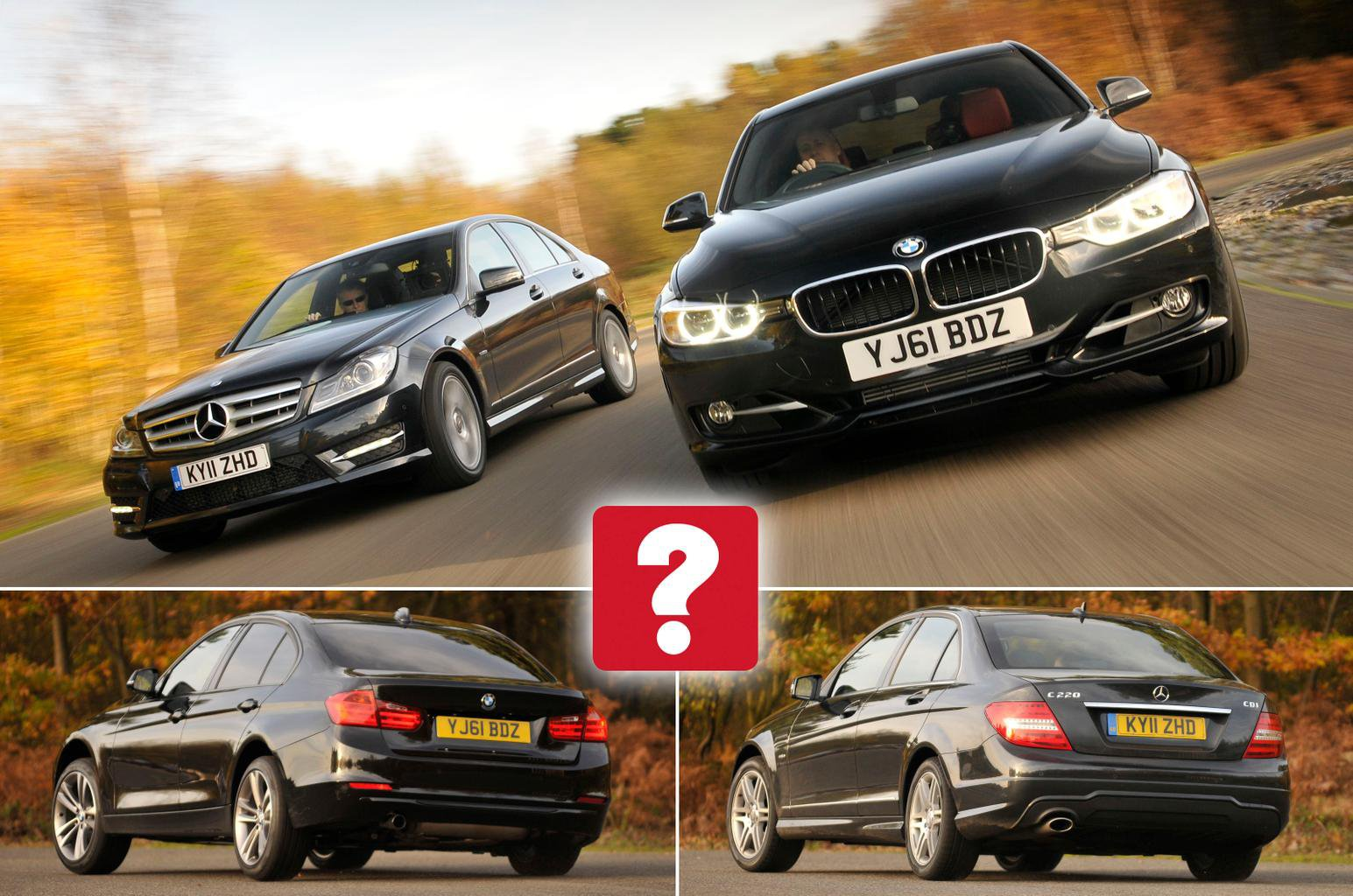 Used BMW 3 Series vs Mercedes C-Class | What Car?