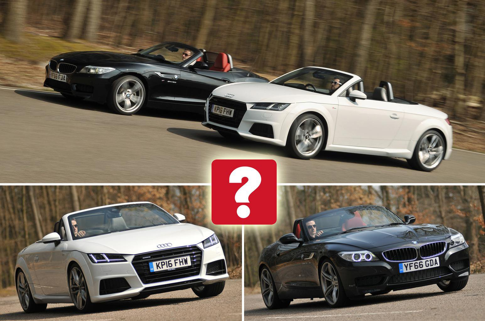 Audi Tt Roadster Vs Bmw Z4