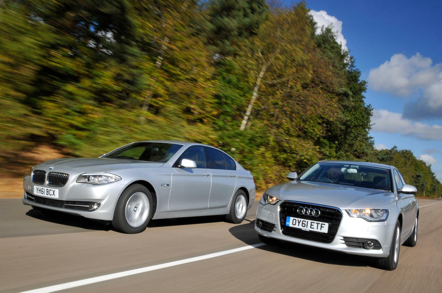 Used test – luxury champions: Audi A6 vs BMW 5 Series