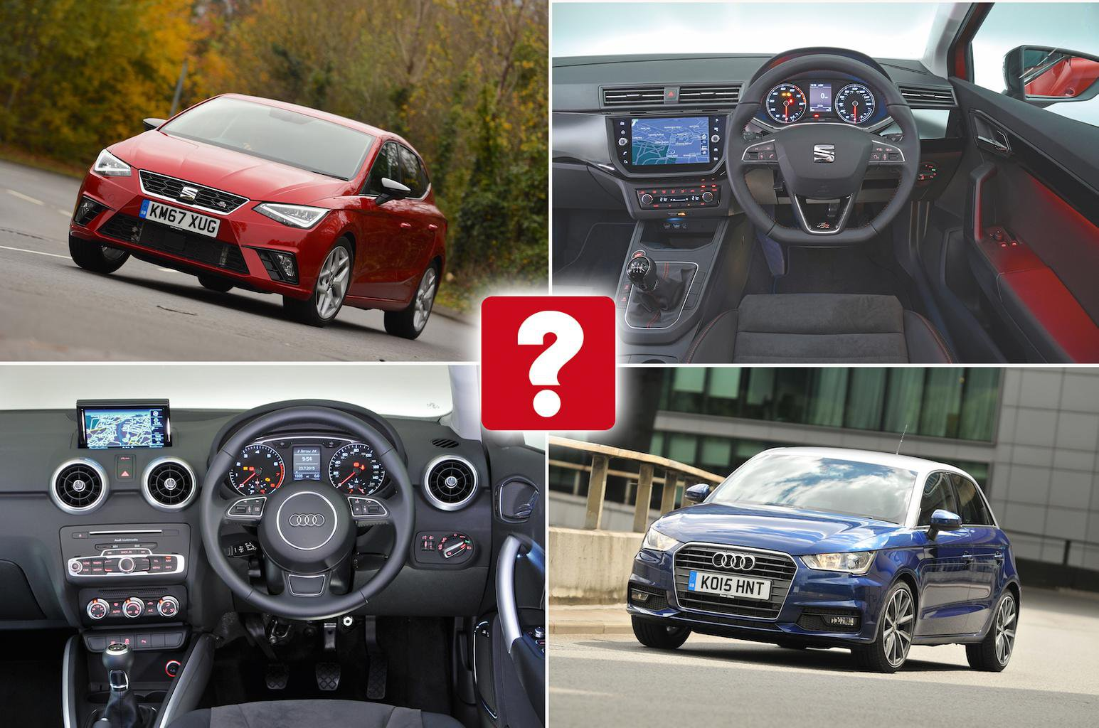New Seat Ibiza vs used Audi A1 Sportback: which is best?