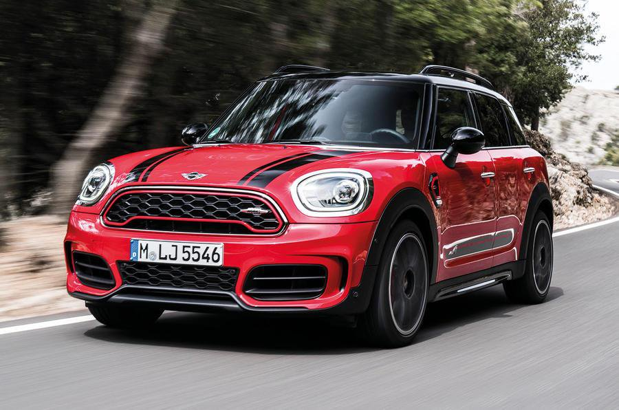 Mini Countryman John Cooper Works 2017 Review What Car