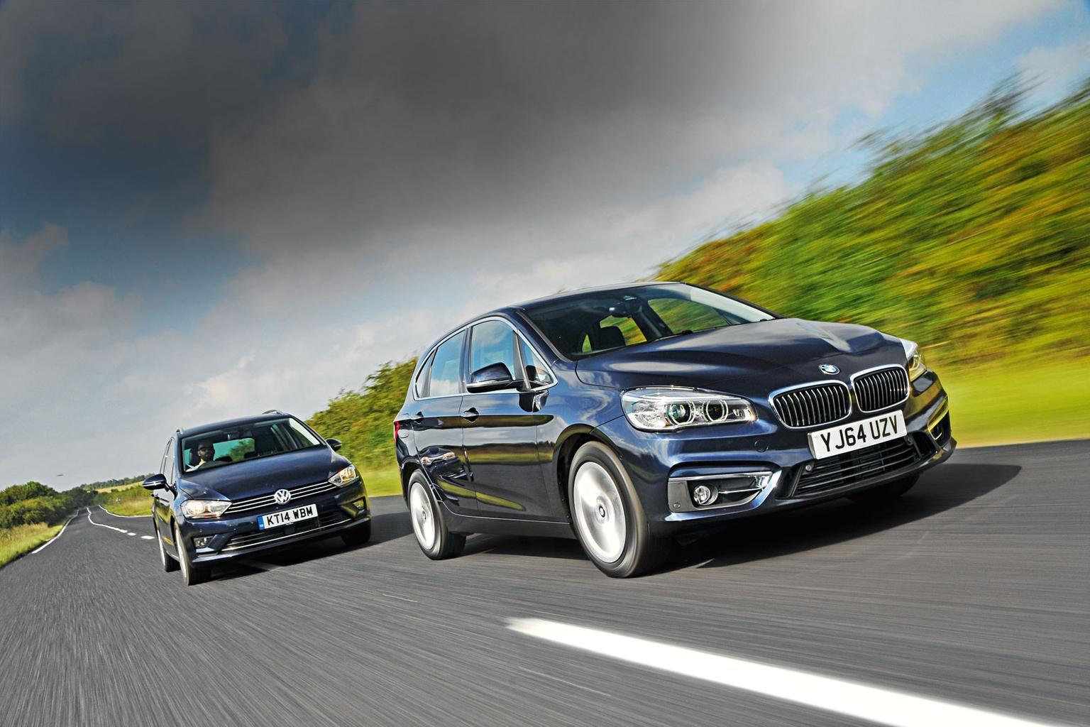 BMW 2 Series Active Tourer vs Volkswagen Golf SV