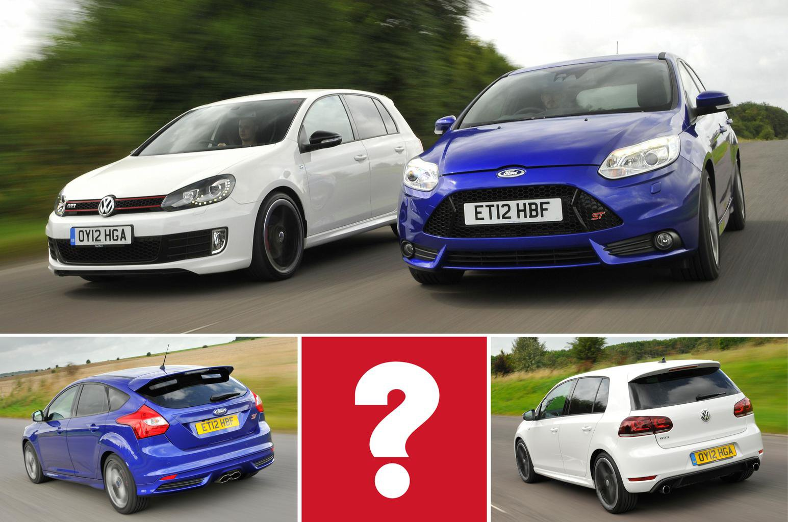 Focus St Vs Gti >> Used Test Hot Hatches Ford Focus St Vs Volkswagen Golf