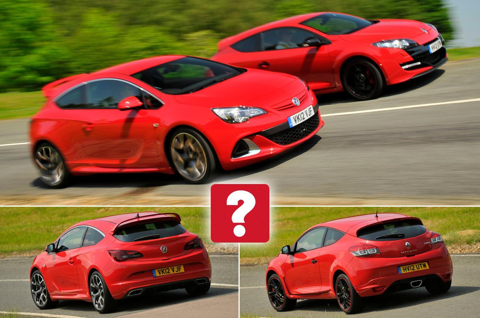 Used Renault Sport Megane vs Vauxhall Astra VXR