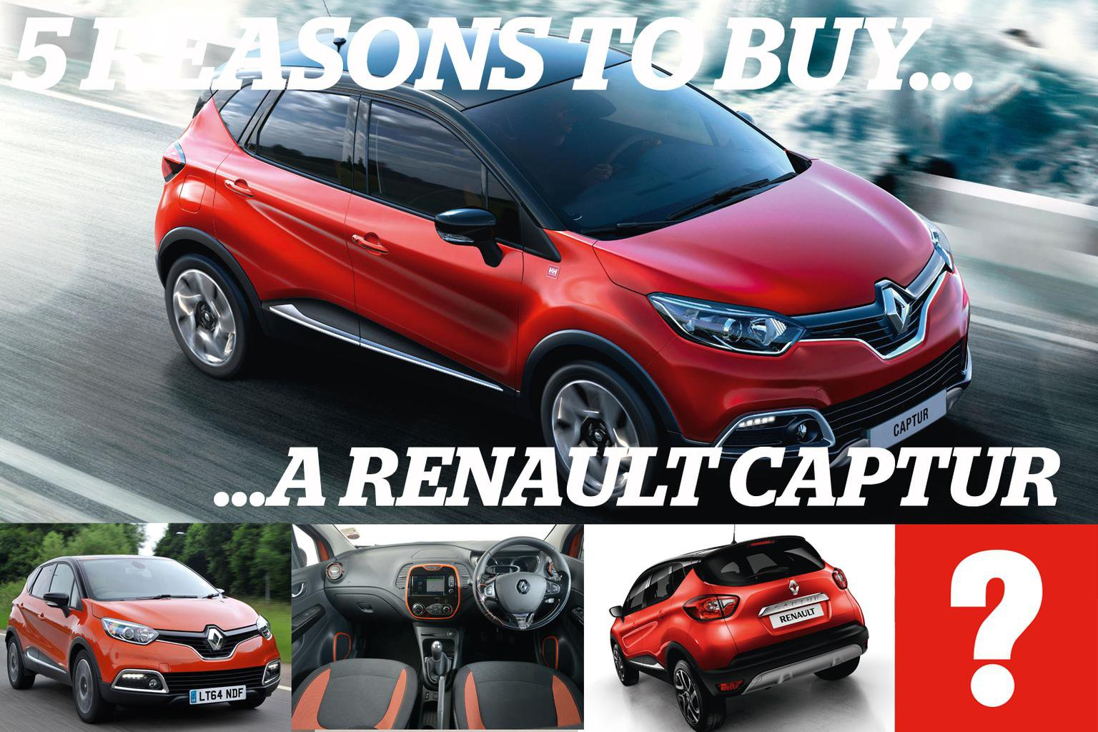 5 reasons to buy a Renault Captur