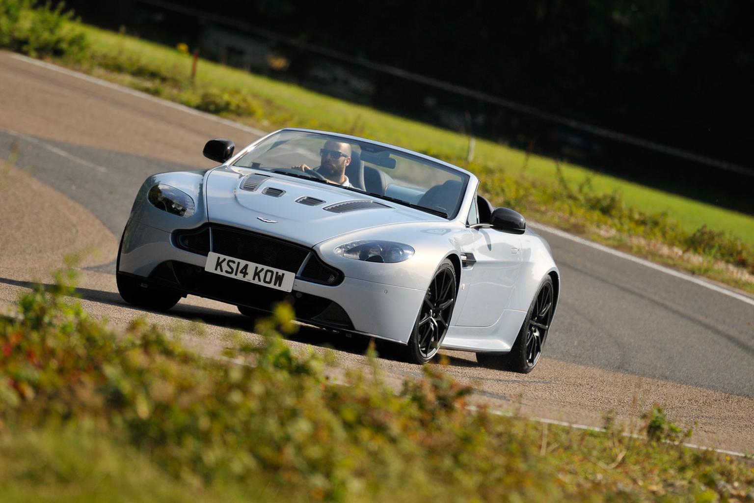 2014 Aston Martin V12 Vantage S Roadster review