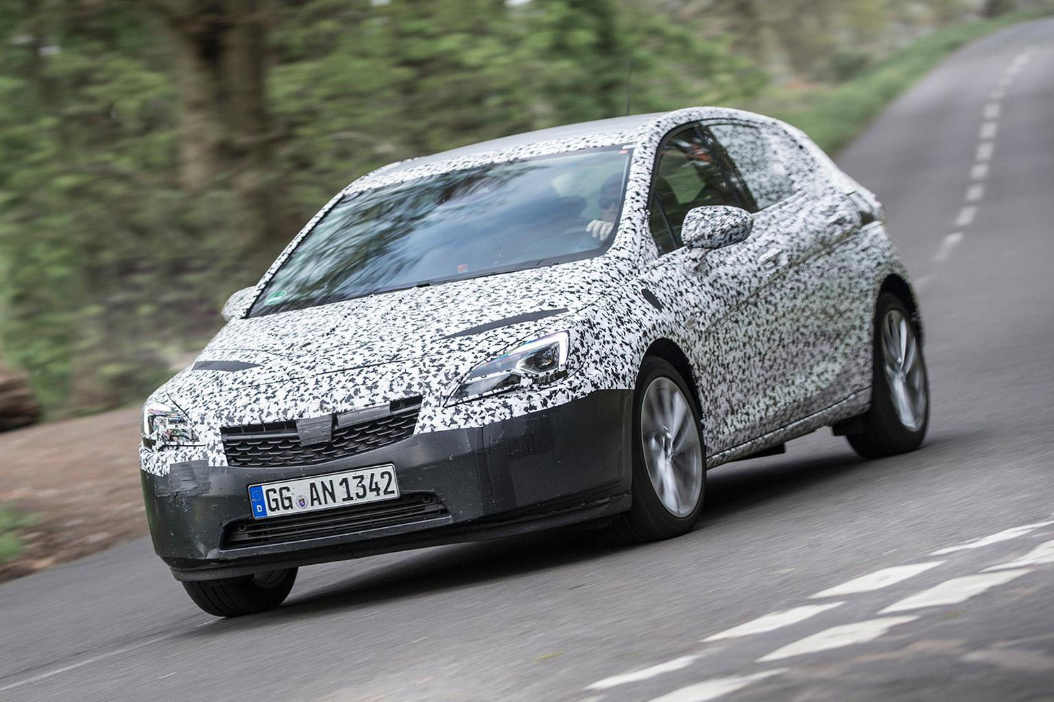 2015 Vauxhall Astra prototype review