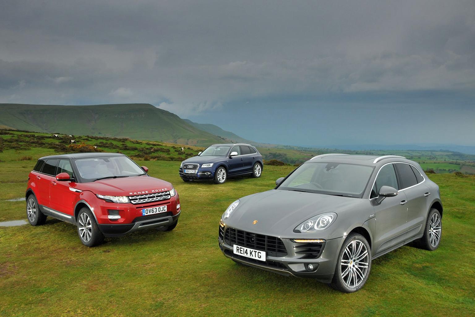 Range Rover Evoque vs Porsche Macan vs Audi SQ5