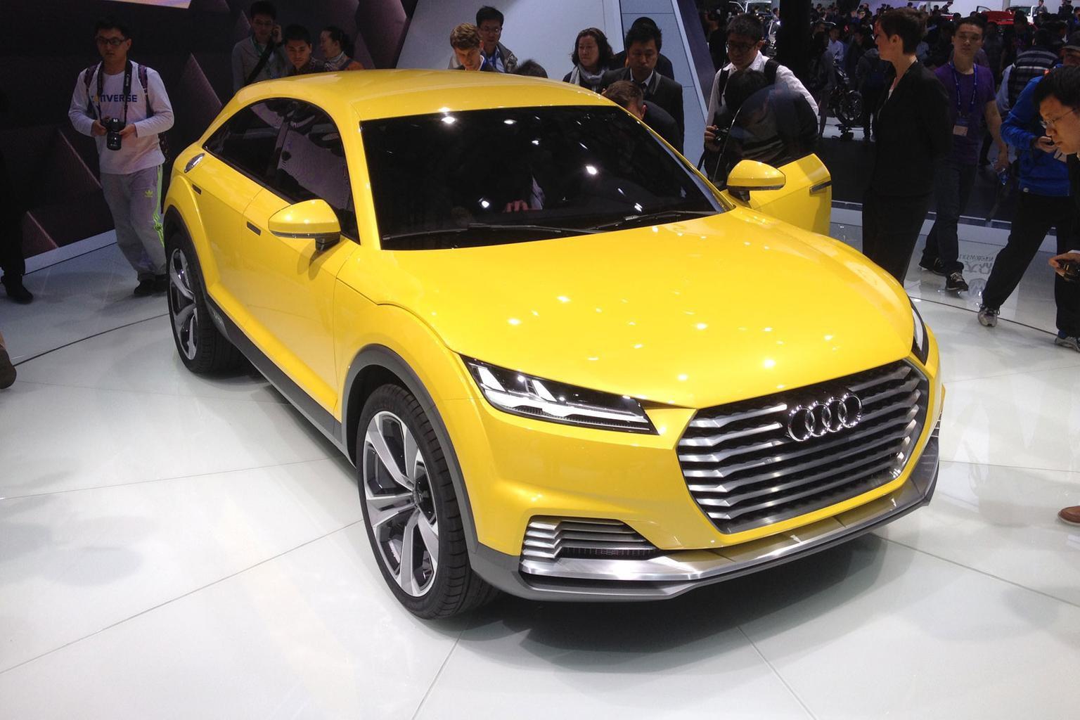 Audi TT SUV concept revealed