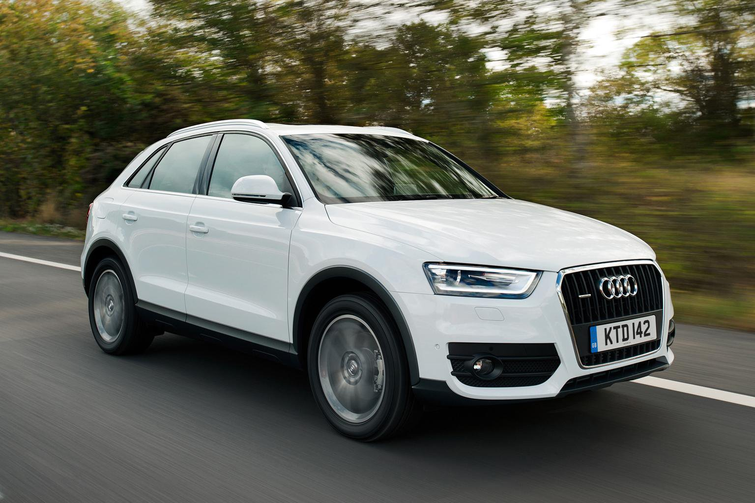 Audi Q3 now from less than 24k