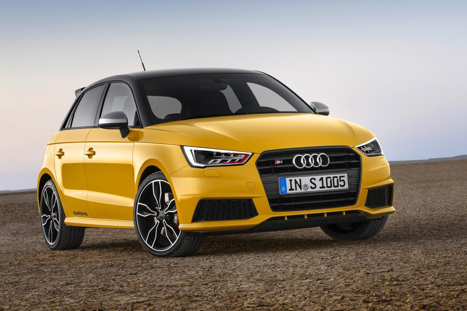 2014 Audi S1 Sportback revealed