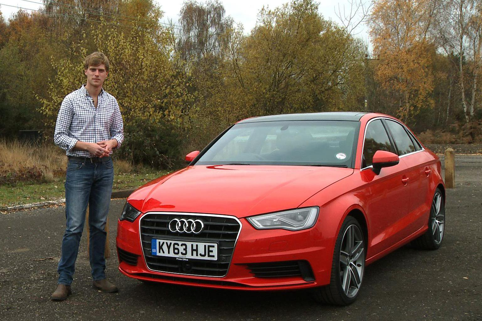 Audi A3 Saloon video review