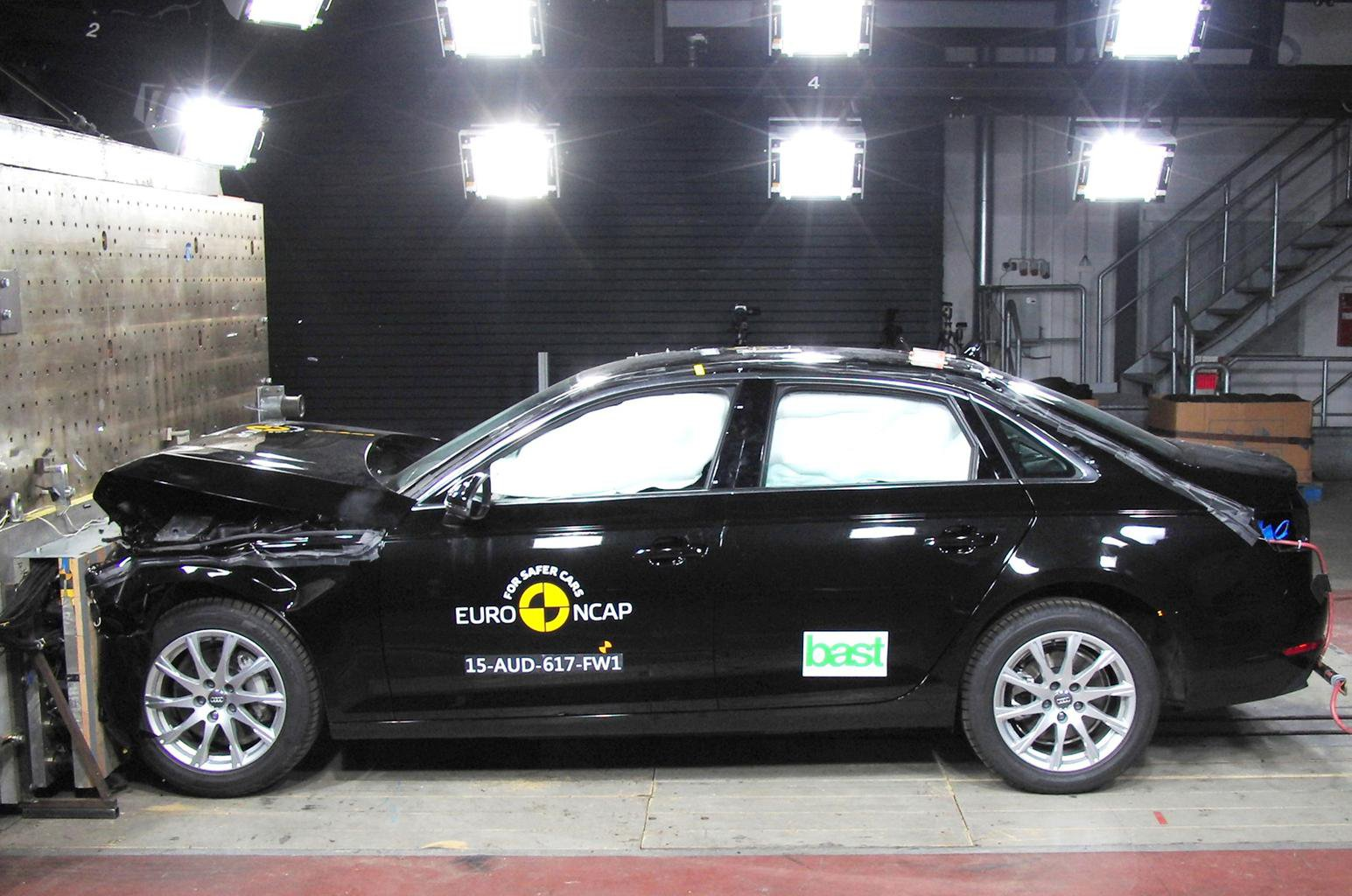 Audi A4, Honda HR-V and Honda Jazz score top marks on Euro NCAP tests