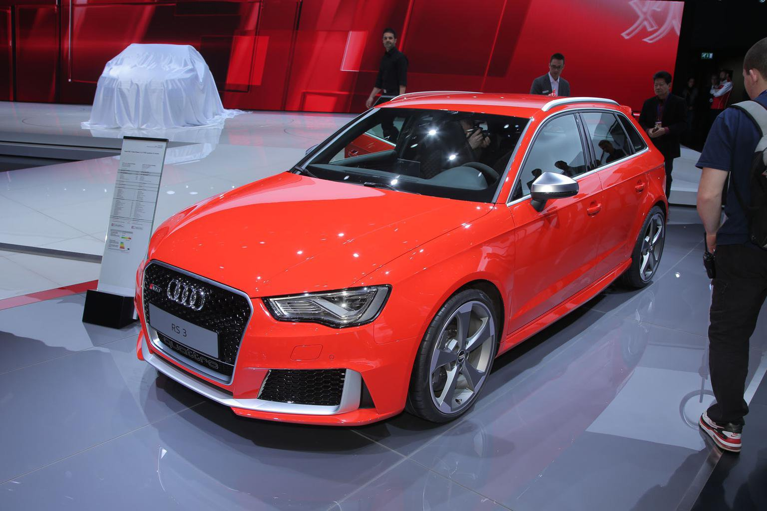 2015 Audi RS3 Sportback revealed - pricing, specification and engine
