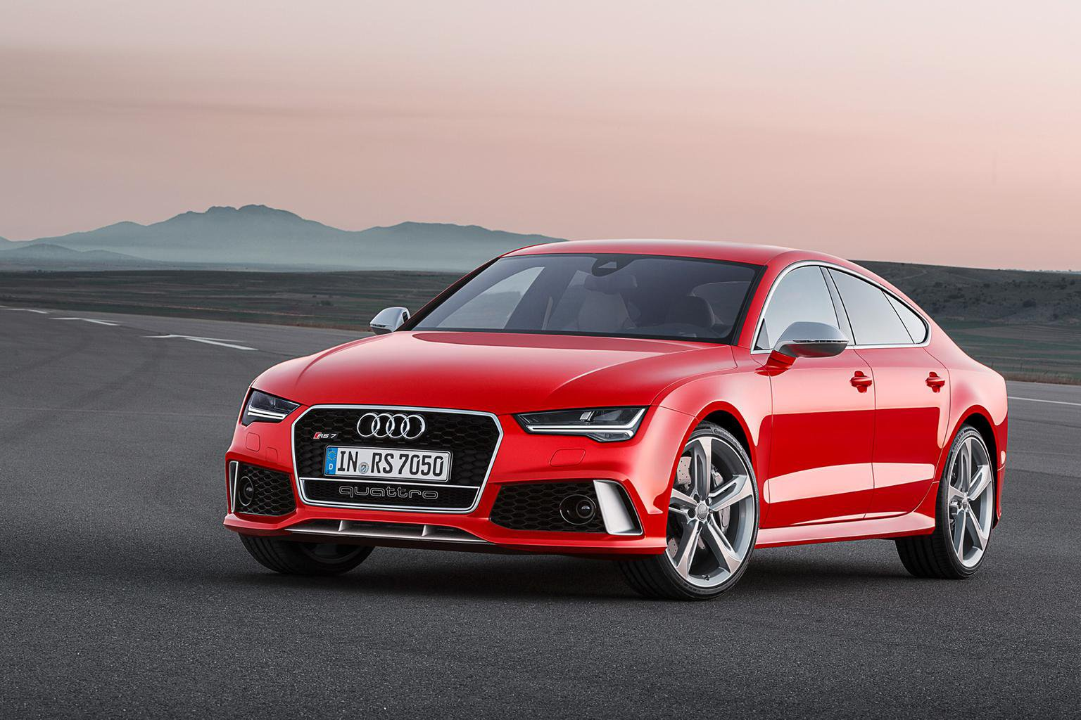 Audi RS7 face-lifted