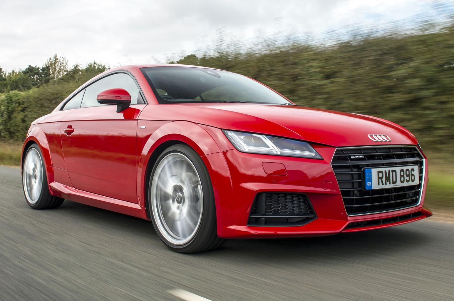Audi TT scores four stars in Euro NCAP tests