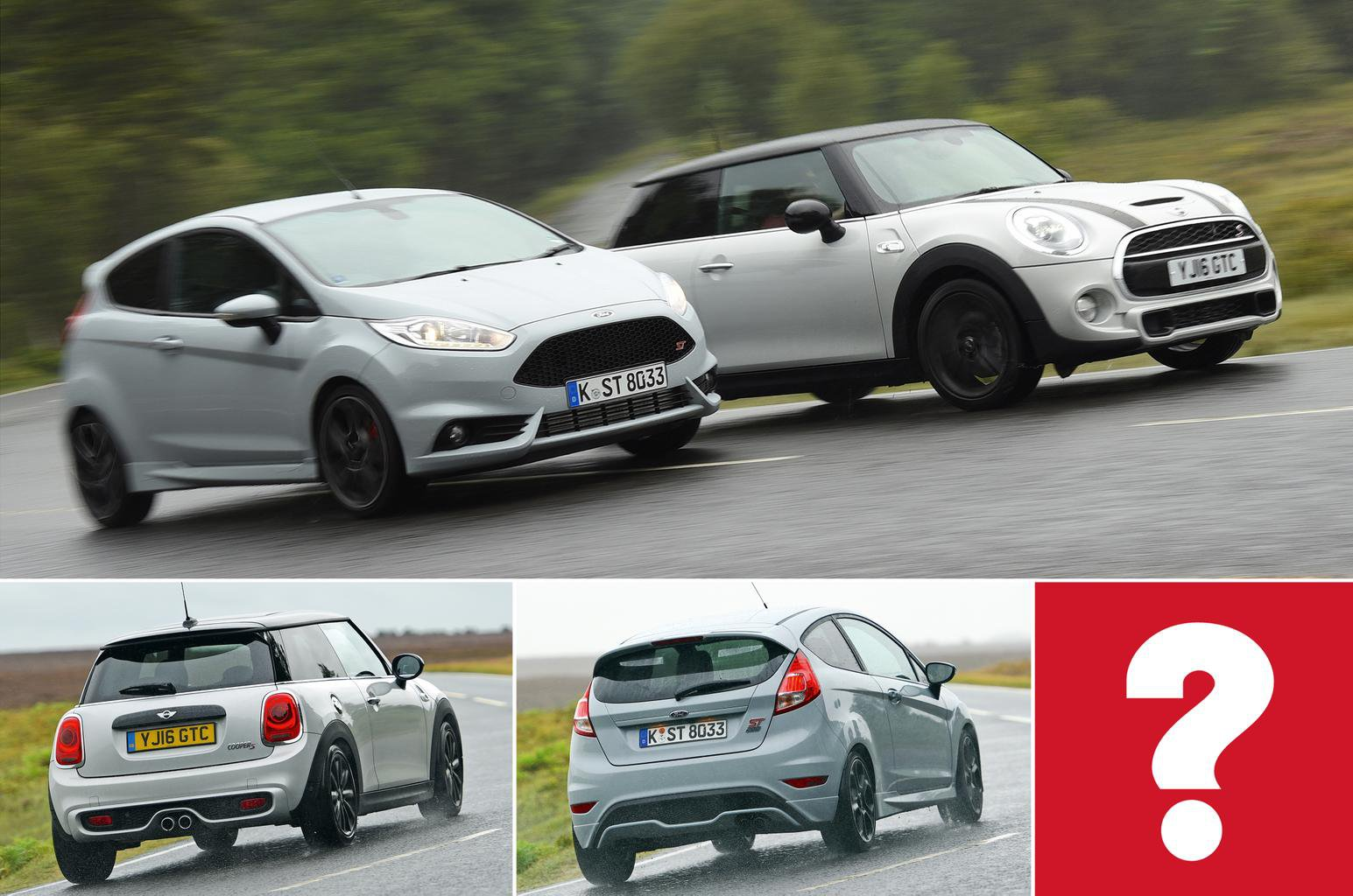New Ford Fiesta ST200 vs Mini Cooper S