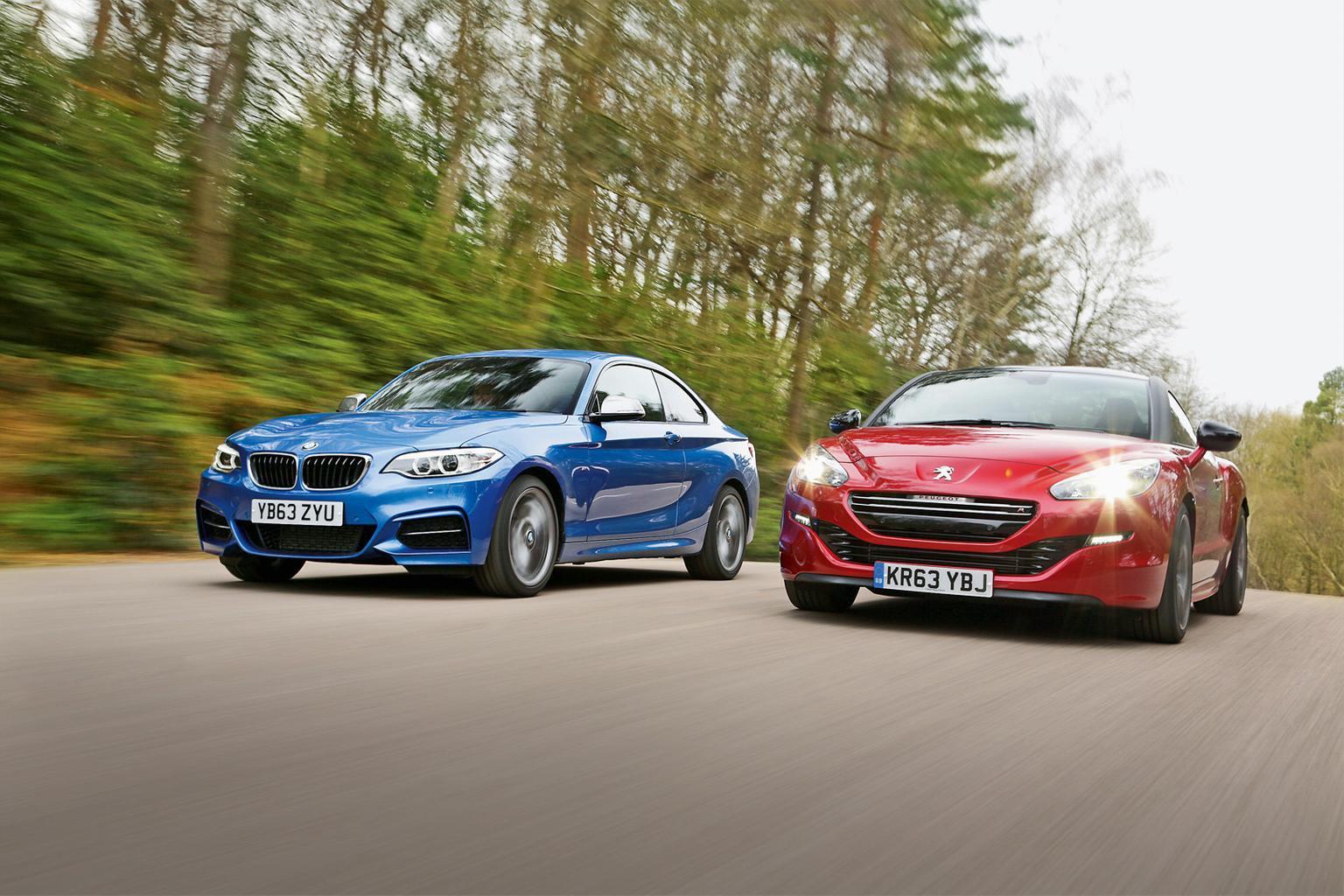 BMW M235i vs Peugeot RCZ R