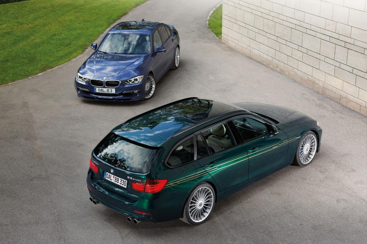 Alpina D3 Bi-turbo saloon and estate revealed