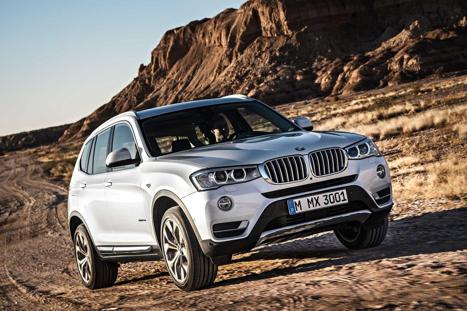 2014 BMW X3 face-lift revealed