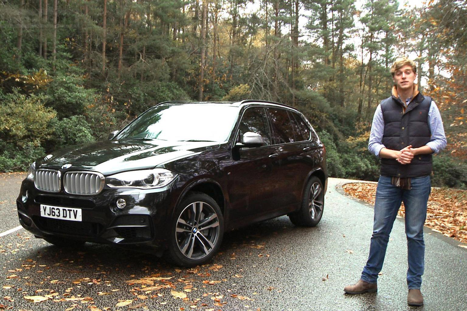 BMW X5 video road test