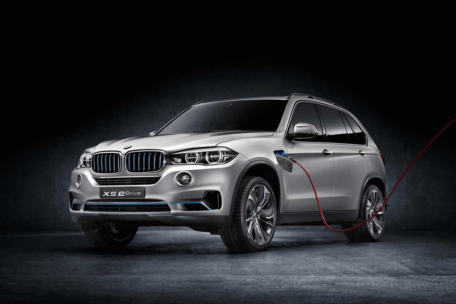 BMW X5 eDrive plug-in concept revealed