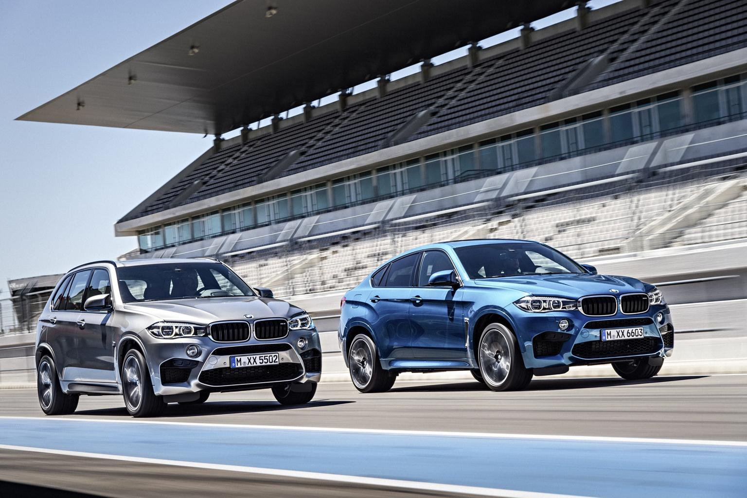 2015 BMW X5 M and X6 M revealed - first pictures, engines, on-sale date