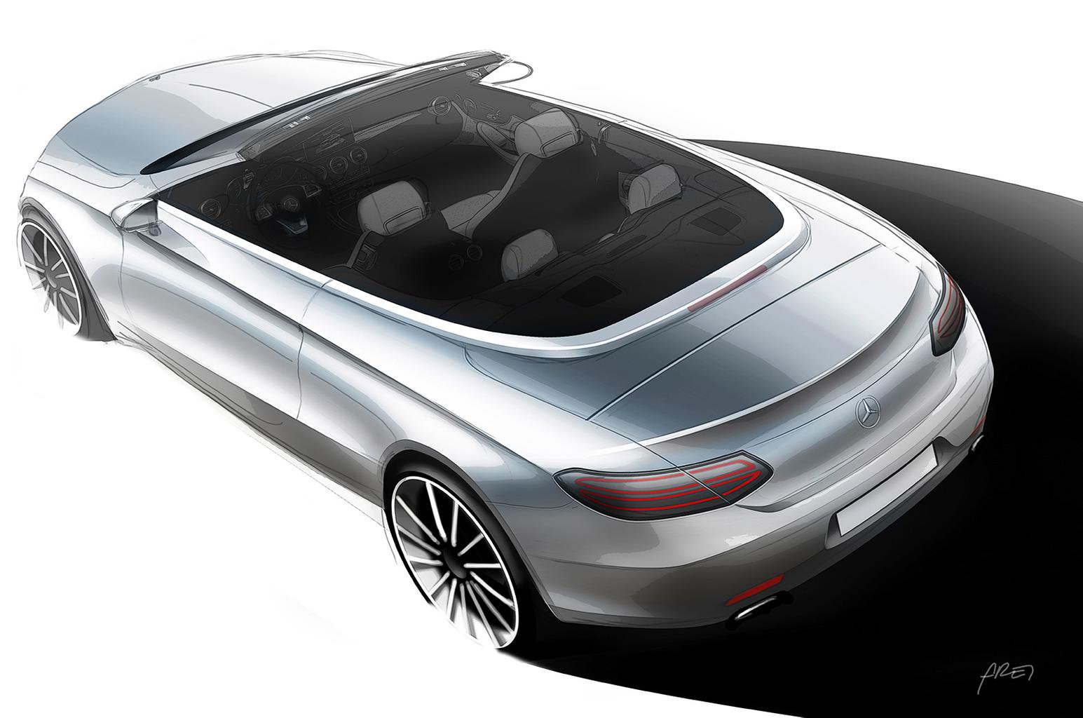 Mercedes-Benz C-Class Cabriolet to be revealed at Geneva motor show