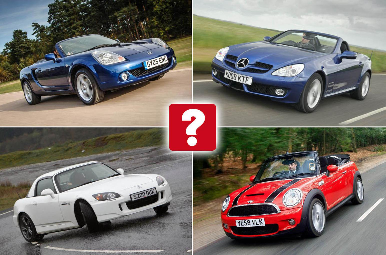 Best used convertible cars for £5000