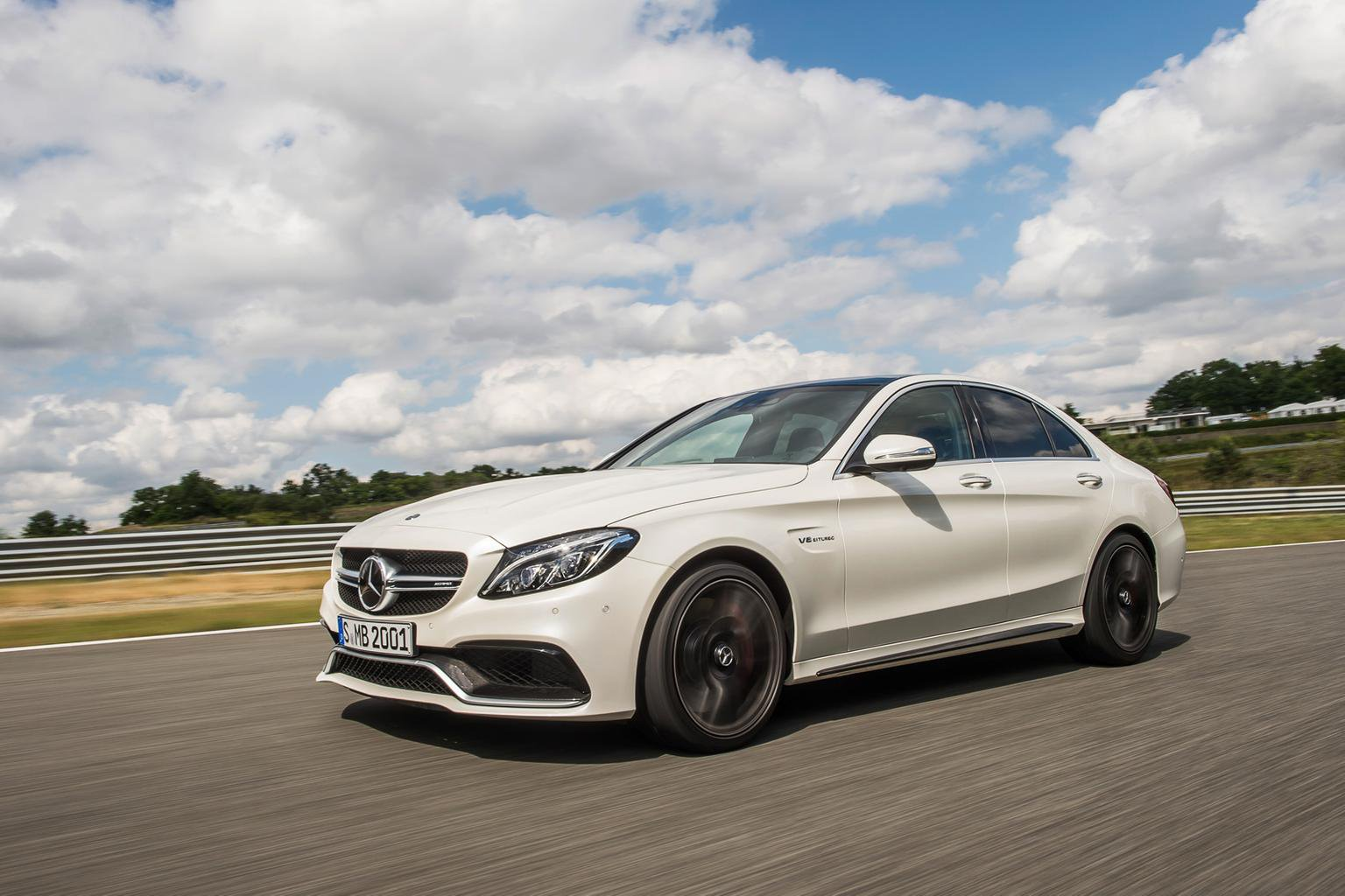 New Mercedes AMG C63 and C63 S revealed at Paris