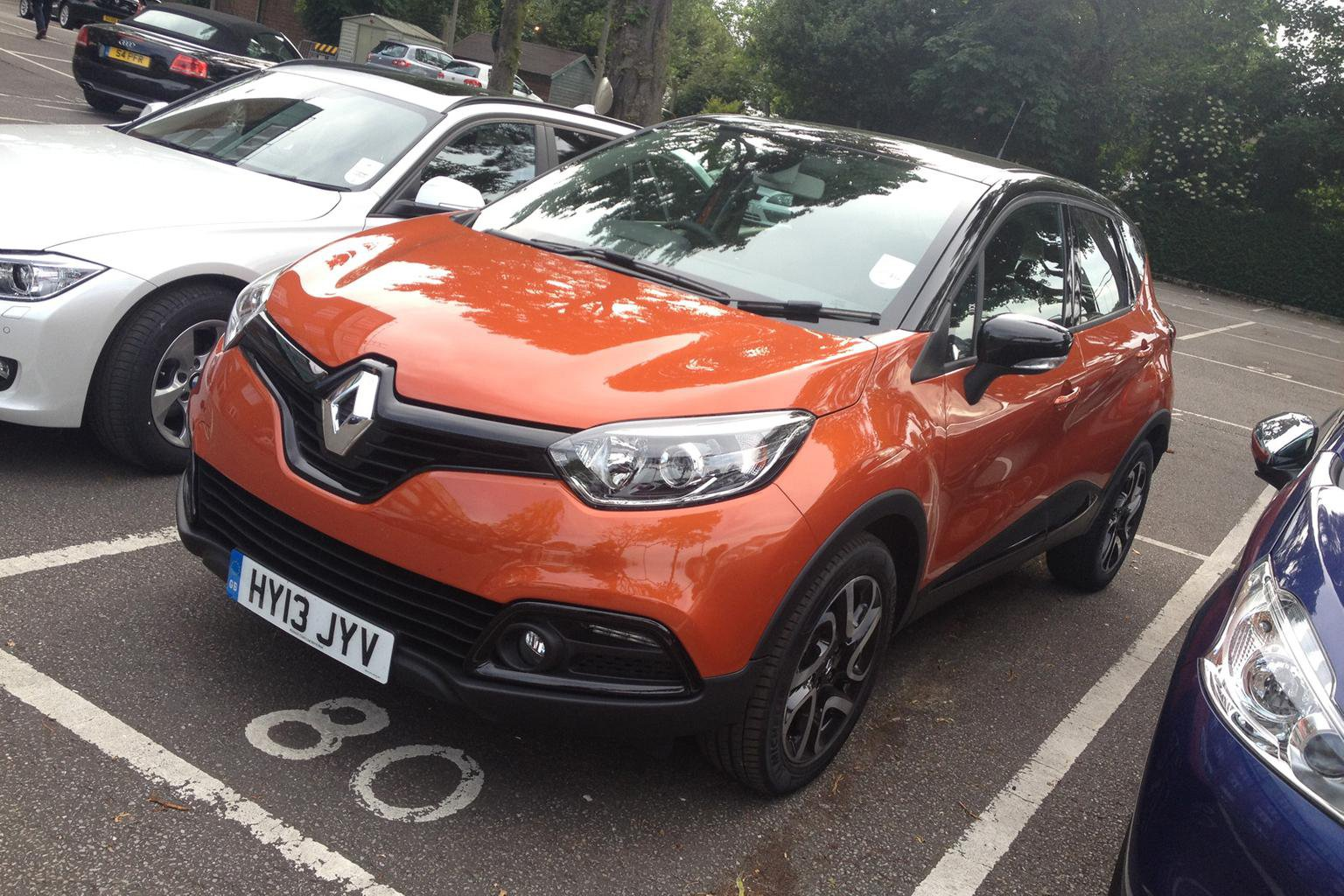 Our cars: Captur, i3, Octavia, 500L and Santa Fe