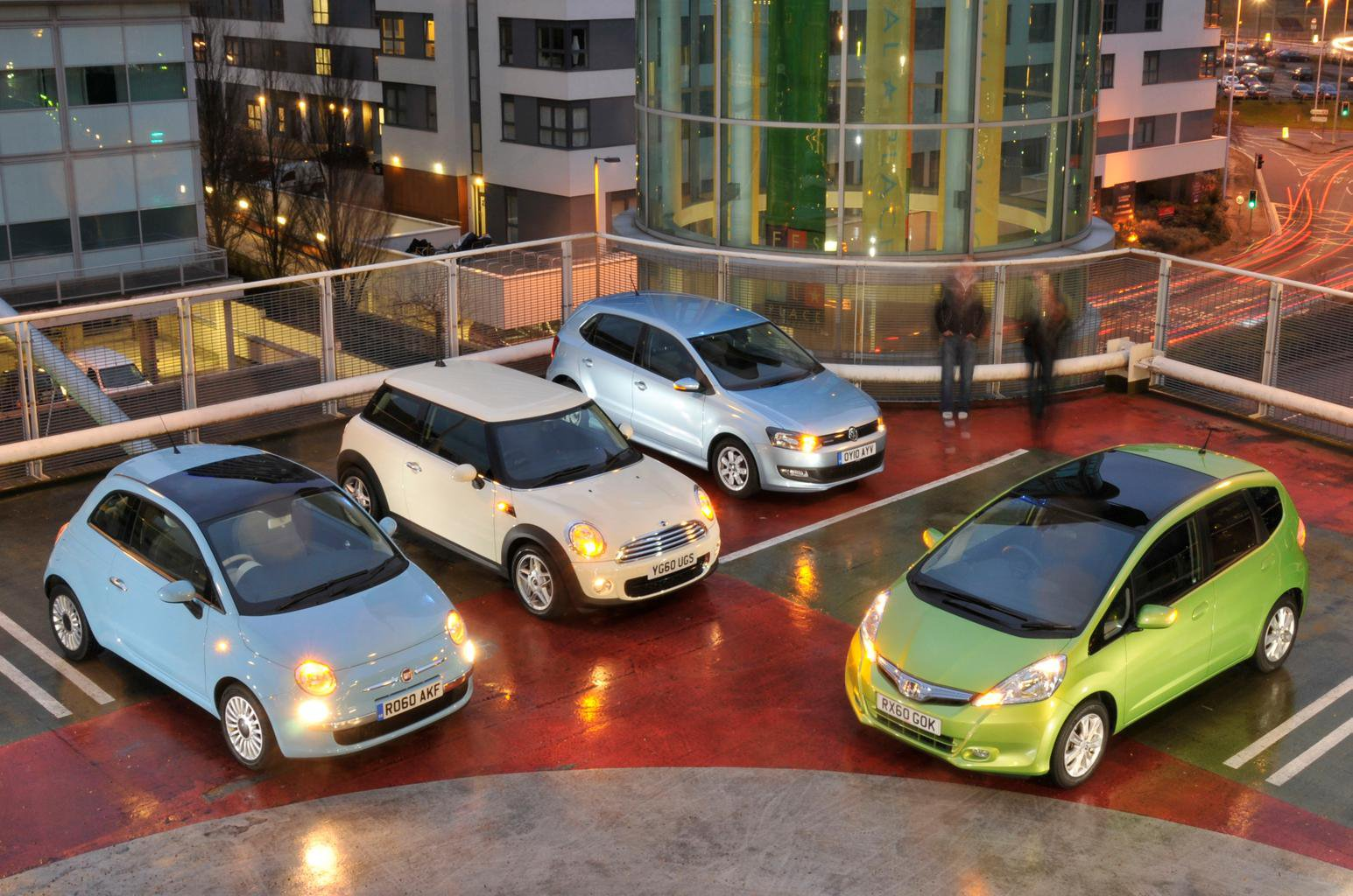Used test – smart small cars: Fiat 500 vs Honda Jazz vs Mini One vs Volkswagen Polo