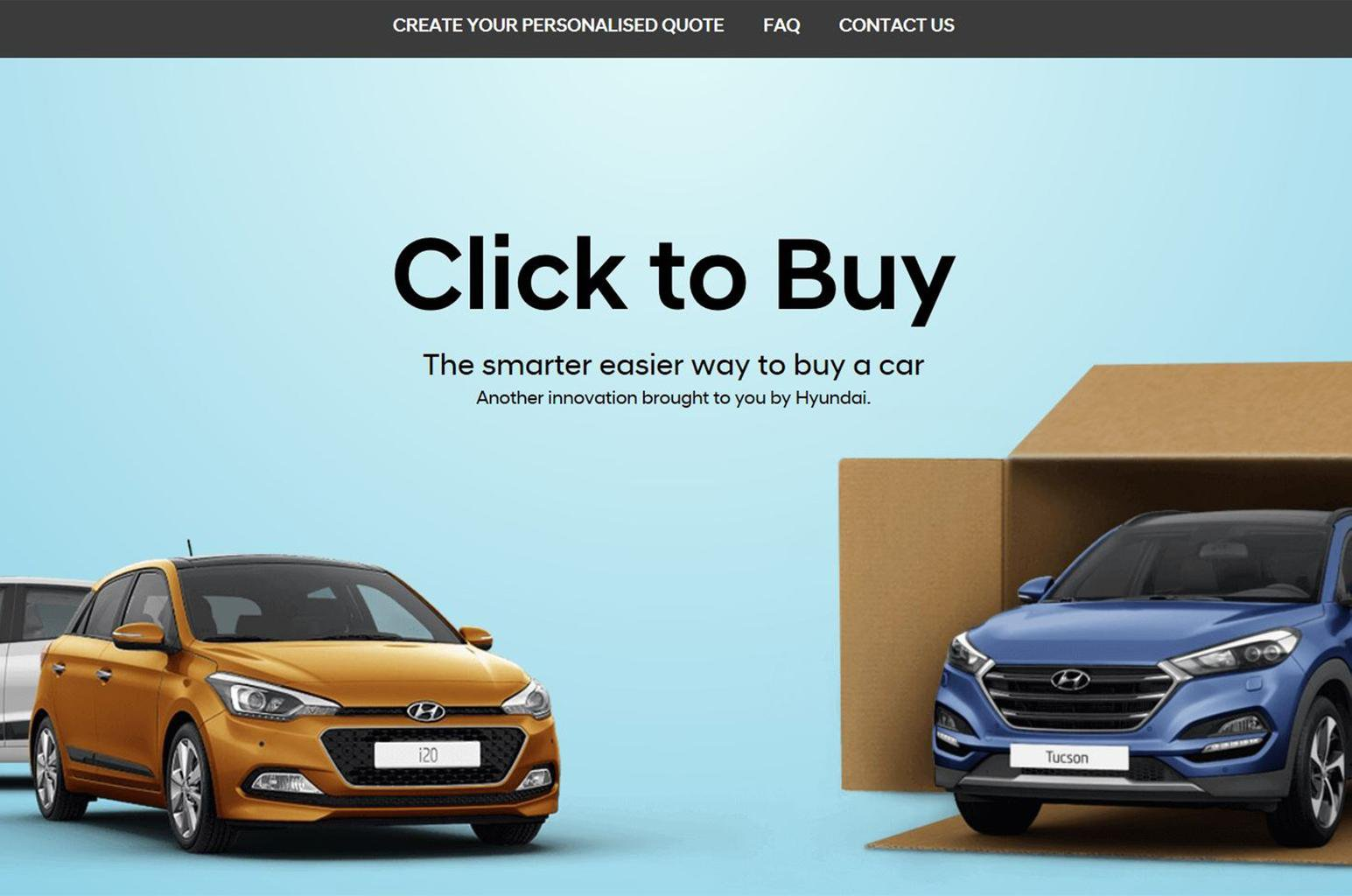 Buy any Hyundai model online at a fixed discount