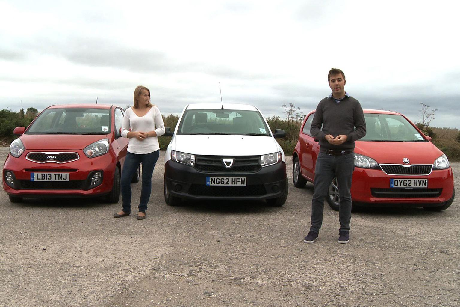 Cheapest cars in the UK video group test