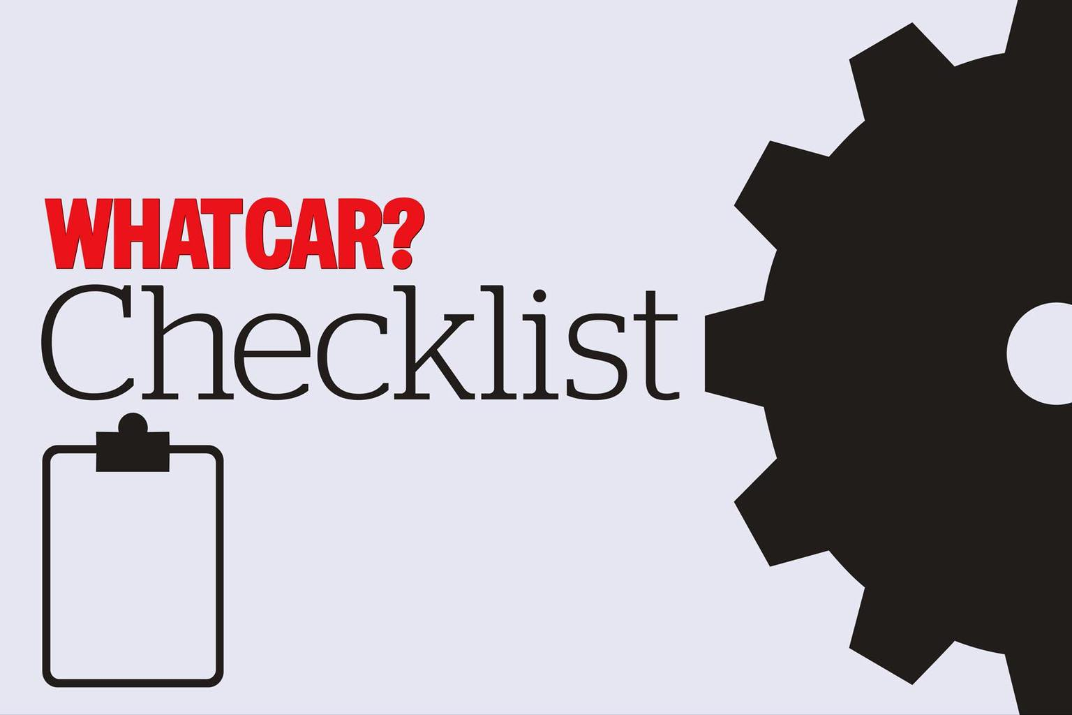 What Car? checklists
