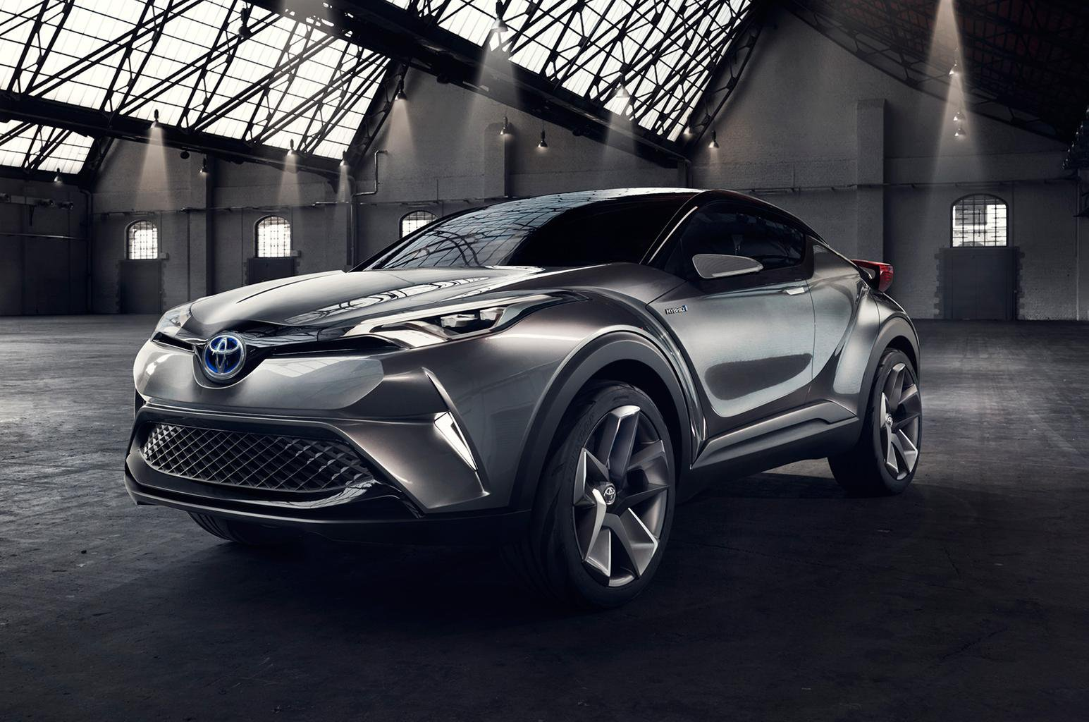 Production Toyota C-HR due at Geneva show