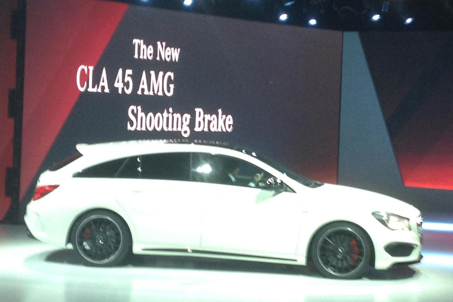 2015 Mercedes CLA Shooting Brake - engines, specification and release date