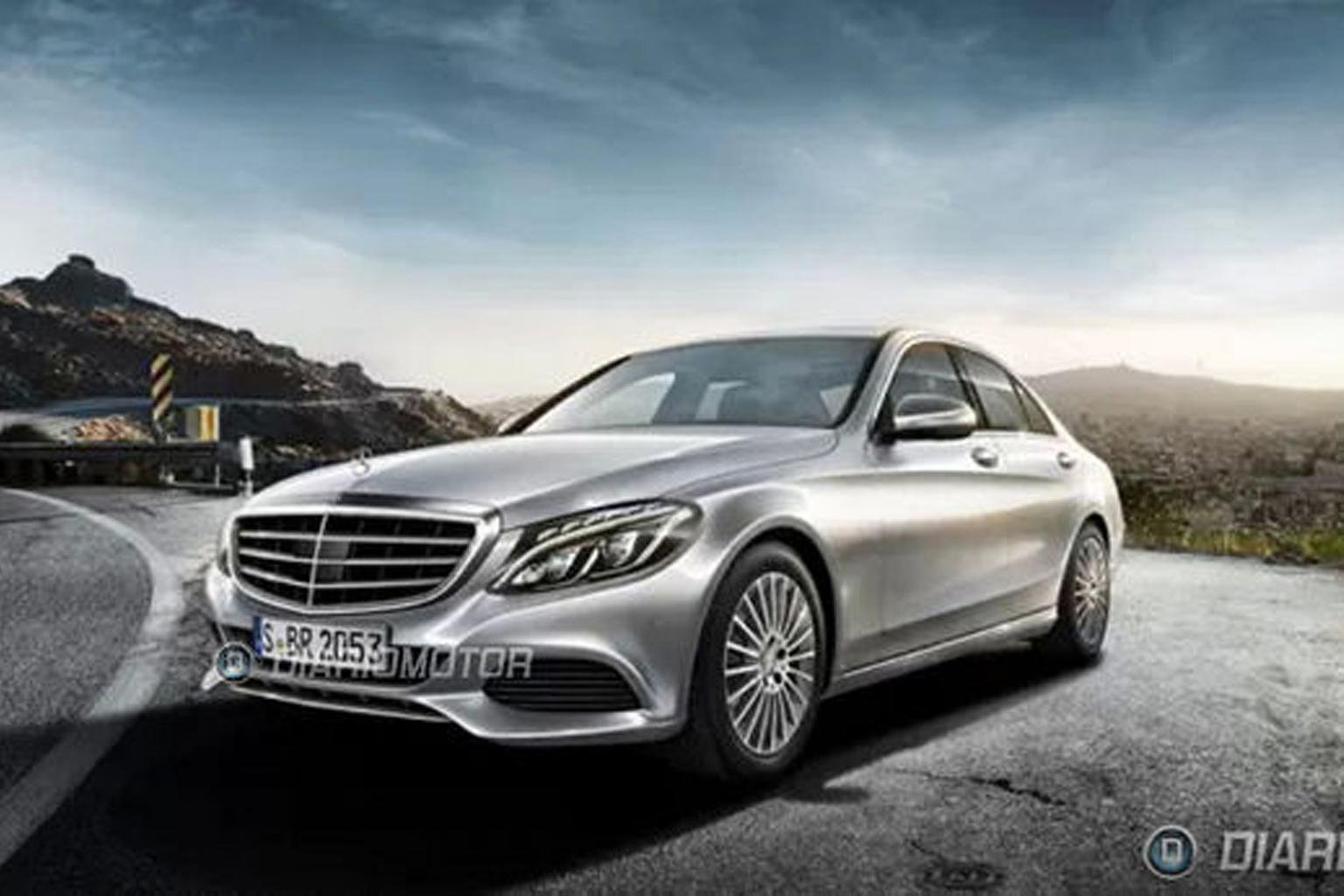 2014 Mercedes C-Class pictures leaked online