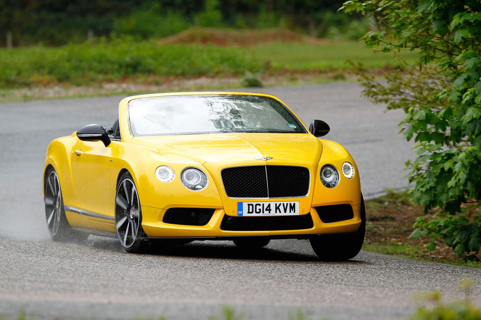 2014 Bentley Continental GT Convertible V8S review