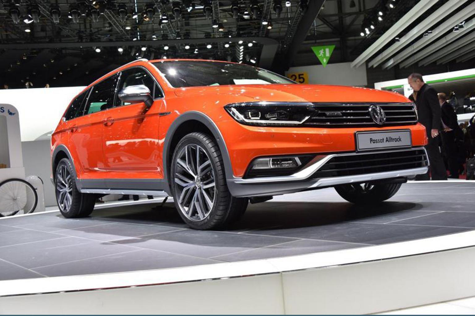 Volkswagen Passat Alltrack revealed at Geneva motor show