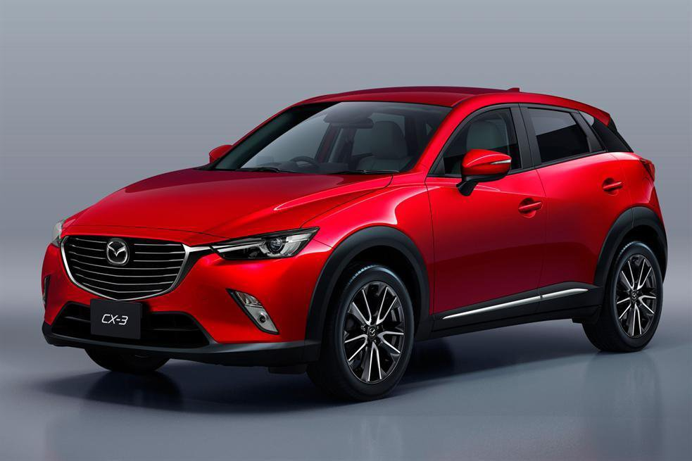 Join us for an exclusive look at the 2015 Mazda CX-3