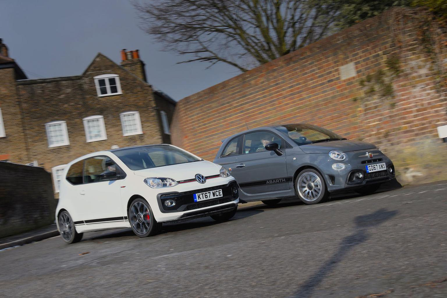 New Volkswagen Up GTI vs Abarth 595