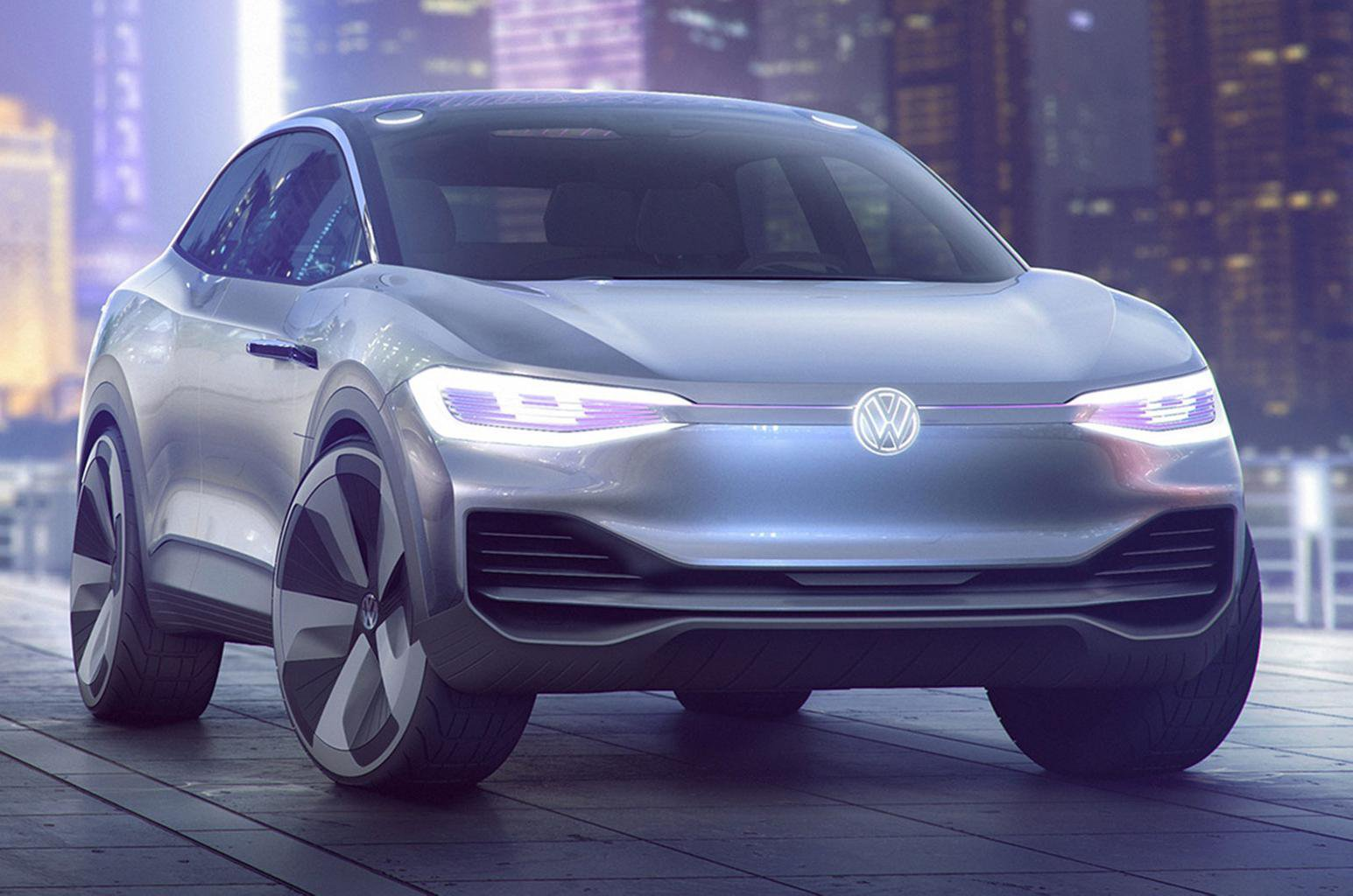 New Volkswagen ID Crozz concept previews electric SUV