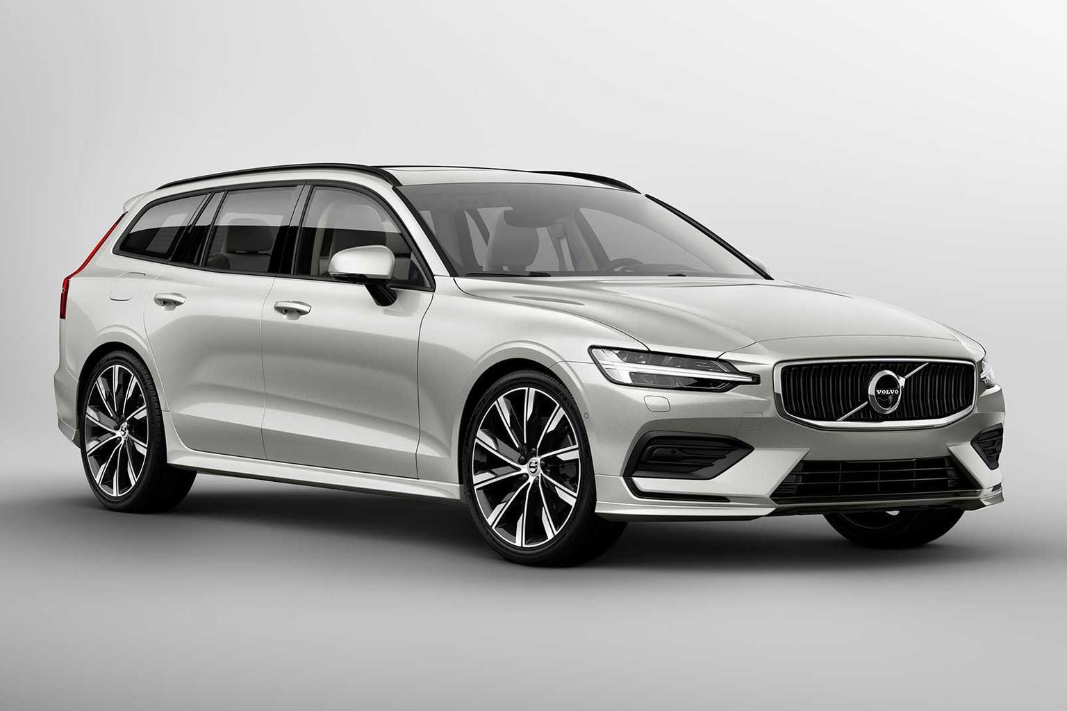 2018 Volvo V60 exclusive Reader Test Team preview
