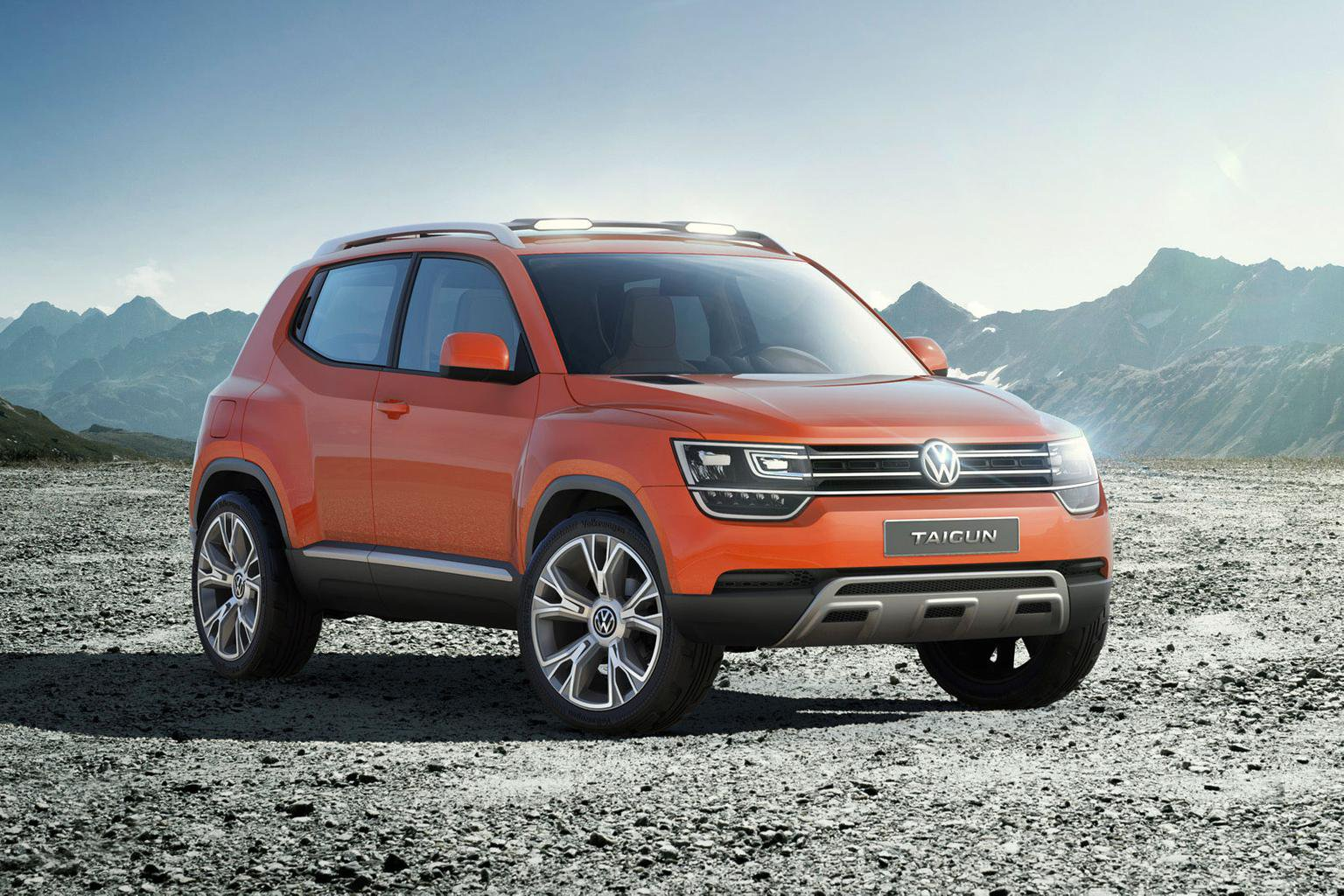 New VW Taigun baby SUV revealed