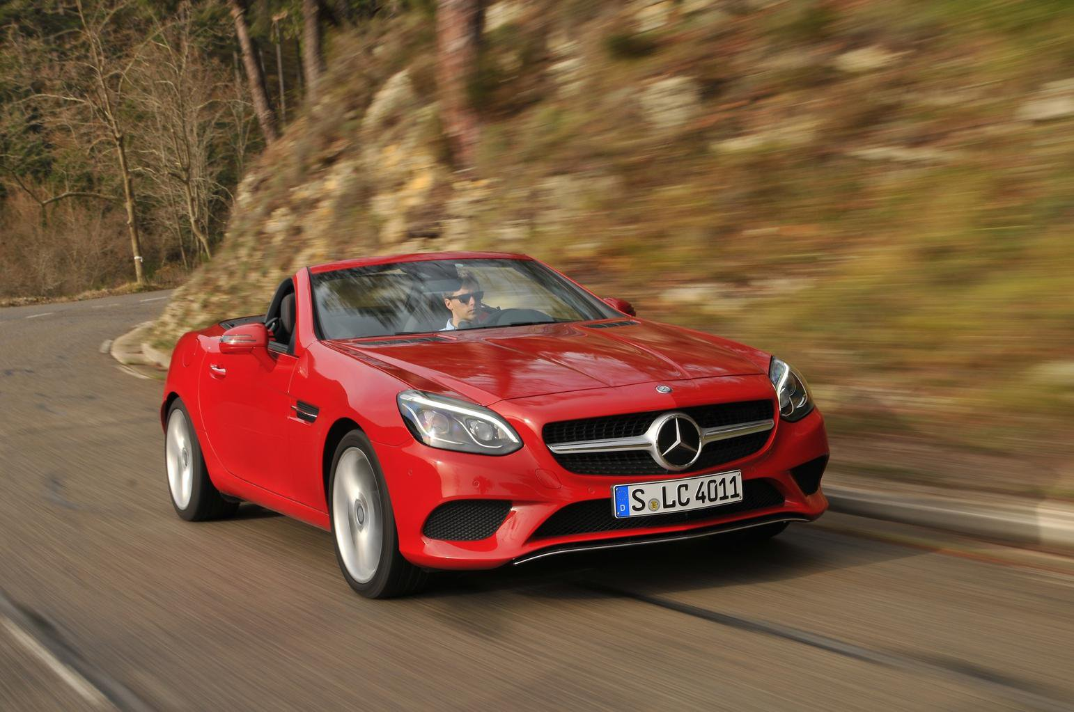 2016 Mercedes-Benz SLC 250 d review