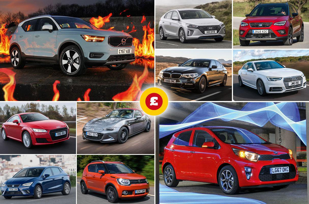 Great savings on our 2018 What Car? Car of the Year Award winners