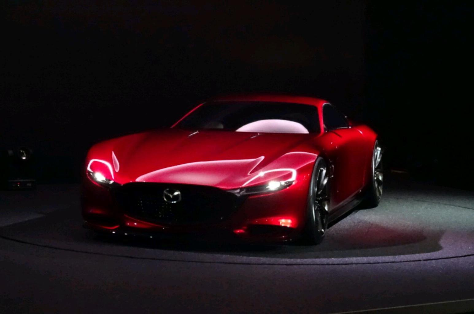 Mazda RX-Vision concept previews return of rotary engines