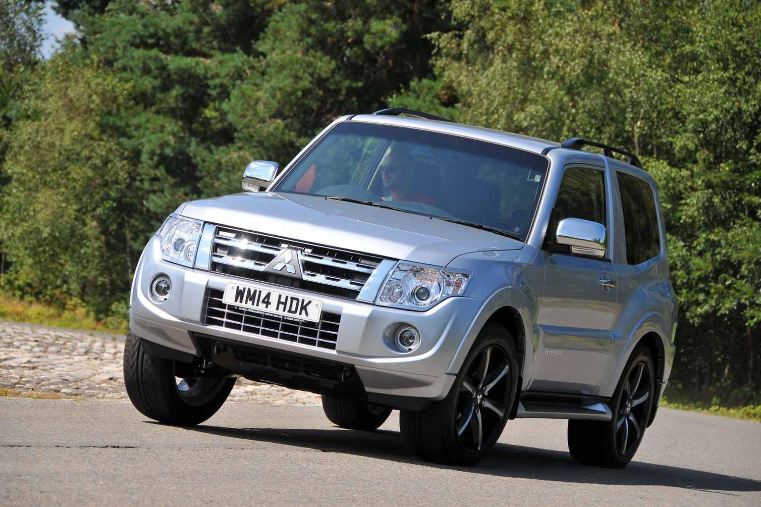 2014 Mitsubishi Shogun Barbarian review