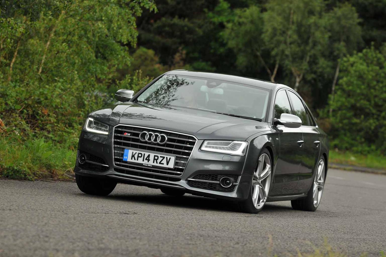 2014 Audi S8 review